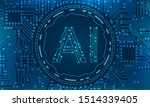 ai  artificial intelligence  ... | Shutterstock . vector #1514339405