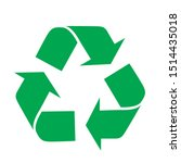 Recycle Icon Vector  In Trendy...