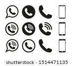 phone set icon symbol vector.on ...