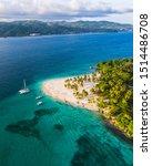 A Beach On A Cay Island Called...