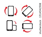Rotate Smartphone Icon Design....
