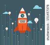 vector illustration of big idea ...   Shutterstock .eps vector #151457378