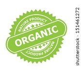 organic rubber stamp sign. jpg... | Shutterstock . vector #151461272