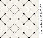 vector seamless pattern. modern ... | Shutterstock .eps vector #151461596