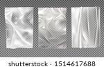 white wet paper  bad glued... | Shutterstock .eps vector #1514617688