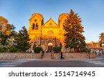 Santa Fe City  New Mexico Usa....