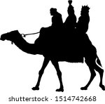 Silhouette Of The Three Kings...