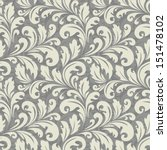 floral pattern. wallpaper... | Shutterstock .eps vector #151478102