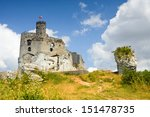 ruins of medieval castle mirow... | Shutterstock . vector #151478735