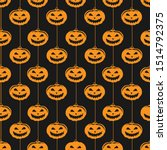 Vector Seamless Halloween...