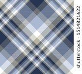 plaid pattern in blue  navy ...   Shutterstock .eps vector #1514821622