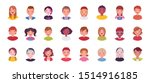 teens and kids avatar big... | Shutterstock .eps vector #1514916185