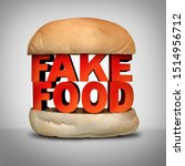 Fake Food Concept And...