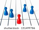 game figurines on different... | Shutterstock . vector #151499786
