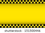 yellow background with taxi... | Shutterstock . vector #151500446