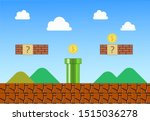 Vintage Mario Videogame...