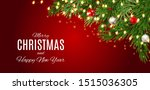 merry christmas and happy new... | Shutterstock .eps vector #1515036305