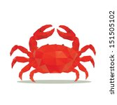 arthropod,biology,claw,crab,crustacean,edge,illustration,life,painting,pinching,prepared,red,s,sea,seafood