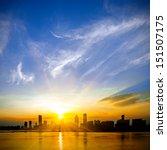 a beautiful sunrise | Shutterstock . vector #151507175