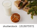 Milk And Cookies For Santa...