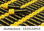 Rows Of Generic Aa Batteries...