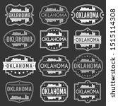 oklahoma city skyline. premium... | Shutterstock .eps vector #1515114308