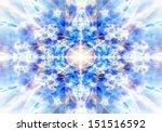 Light Blue Kaleidoscope...