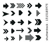 arrows vector collection with... | Shutterstock .eps vector #1515185975