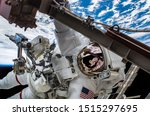 Astronaut Float In The Space I...