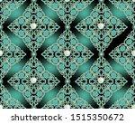 damask seamless pattern. vector ...   Shutterstock .eps vector #1515350672