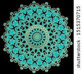 elegance ornamental vector... | Shutterstock .eps vector #1515370715