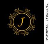 luxury gold logo template...   Shutterstock .eps vector #1515383762