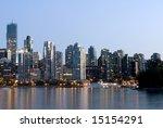 Coal Harbour -- Vancouver, Canada - stock photo
