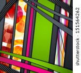 multi layered abstract... | Shutterstock .eps vector #151564262