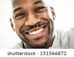 close up portrait of a happy... | Shutterstock . vector #151566872