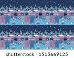 raster illustration. winter... | Shutterstock . vector #1515669125