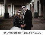Halloween Couple. Dressed In...
