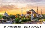 Hagia Sophia Panoramic View At...