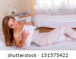 cosmetology. fat burning body... | Shutterstock . vector #151575422