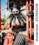 Hellga Scary Clown Sitting On...