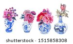 Asian Traditional Vases...