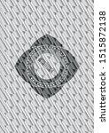 pencil icon inside silver... | Shutterstock .eps vector #1515872138