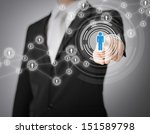 business  technology  internet... | Shutterstock . vector #151589798