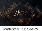 diwali festival modern luxury... | Shutterstock .eps vector #1515956792