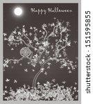 halloween | Shutterstock . vector #151595855