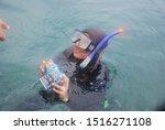 My Friend Is Taking Underwater...