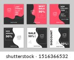 sale web banner for social media | Shutterstock .eps vector #1516366532