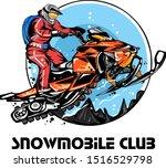 Snowmobile Logo  Emblems ...