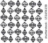 seamless pattern. modern... | Shutterstock . vector #151656158