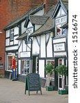 shops in frodsham village... | Shutterstock . vector #1516674